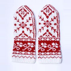 Original Selbu Mittens  handmade from luxury wool by annawoolmagic, $50.00