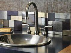 metalle Küchenrückwand-modernes Design