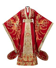 Chinese Wedding Dress Traditional, Traditional Dresses, Traditional Chinese, Hanfu, Cheongsam, Imperial Clothing, Red Wedding Dresses, Chinese Wedding Dresses, Chinese Dresses