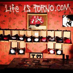 Life is Porno pop-up shop