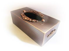 Wooden Tissue Box Cover Kleenex Holder Tissue Holder Table | Etsy Tissue Box Covers, Tissue Boxes, Tissue Holders, Wedding Wine Glasses, Wedding Champagne Flutes, Etsy Shop Names, My Etsy Shop, Wine Goblets, Covered Boxes