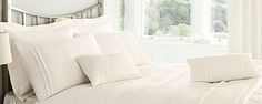 Ivory Westbury Bedlinen Collection - clean  & simple