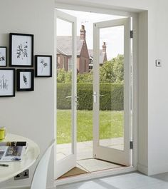Examine this significant photo and look at the offered points on french doors interior Double Patio Doors, Double Doors Interior, Double French Doors, French Doors Patio, External Doors, Aluminium Doors, Room Doors, Entrance Doors, Barn Doors