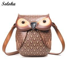 Owl Shoulder Messenger Bag