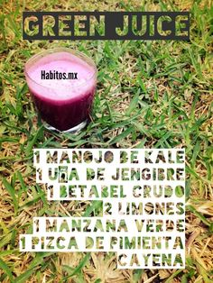 Jugo verde by hábitos
