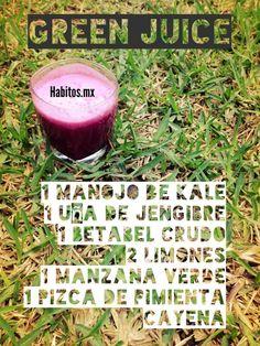 Jugo verde by hábitos