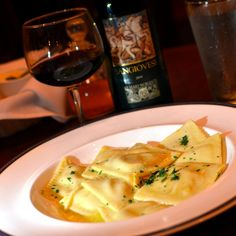 Pumpkin Ravioli at Argia's, Falls Church, VA