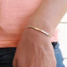 Gold bar bracelet,Name plate bracelet,Personalized bracelet,Engraved Bracelet,bridesmaid Gift,Initia Bridesmaid Bracelet, Bridesmaid Gifts, Evil Eye Ring, Engraved Bracelet, Evil Eye Jewelry, Fitness Bracelet, Personalized Bracelets, Dainty Ring, Moonstone Ring