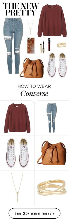 """""""Untitled #127"""" by jade234 on Polyvore featuring Topshop, Toast, Converse, Maison Margiela, ECCO, L'Oréal Paris, EF Collection, NARS Cosmetics and Agent 18"""