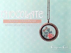 Large Chocolate Origami Owl Living Locket with Crystals $40, Chocolate Ball Station Chain $10, and all charms are only $5 each! www.amandaknoll.origamiowl.com #OrigamiOwl #O2 #Custom #Jewelry #ForHer #Chocolate #LivingLocket #Crystals #Charms #Indulge #ValentinesDay #GiftGivingMadeEasy