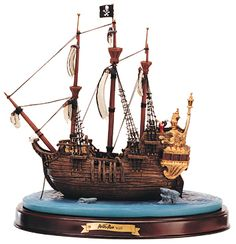 Peter Pan-Captain Hook's Ship (1996 Numbered Limited Edition)