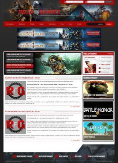 RFG WebSite Layout