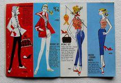 Barbie and Ken 1961 Mattel Vintage Fashion Illustration Ca…   Flickr