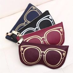 GUDANSEN New cheap clutch bags Fashion Pu Leather  Daily Storage Coin Purse Women Wallet lady zero wallets glasses bag