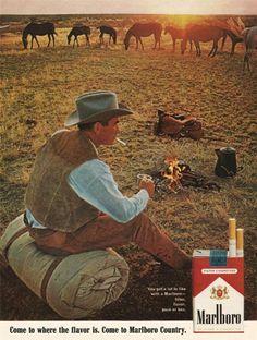 realmensmoke:  Marlboro Man 1960s