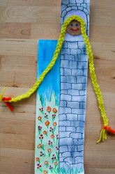 Rapunzel Card Craft | Education.com