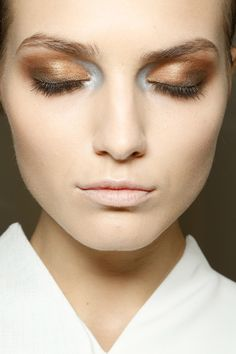 Makeup at Gianfranco Ferré S/S 2013, Milan Fashion Week
