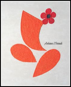 Gudi Padwa Rangoli, Easy Rangoli Designs Diwali, Rangoli Simple, Rangoli Designs Latest, Free Hand Rangoli Design, Small Rangoli, Flower Rangoli, Popsicle Stick Crafts For Kids, Craft Stick Crafts