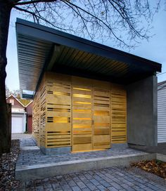 Eaton Avenue contemporary-garage-and-shed
