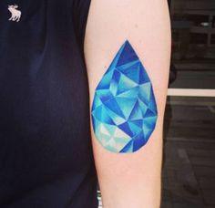 27 Beautiful Blue Ink Tattoo Designs
