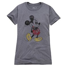 Classic Mickey Mouse Tee for Women  $16.50