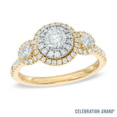 <3 yellow gold and diamonds!