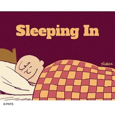 """""""Nothing makes me happier than sleeping in. Snoopy Love, Charlie Brown And Snoopy, Snoopy And Woodstock, Charlie Brown Characters, Peanuts Characters, Snoopy Classroom, Winnie The Poo, Funny Quotes, Funny Memes"""