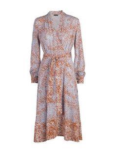 STINE GOYA – Lee Dress, Olive Viscose