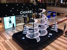 Chanel Christmas Decorations Inside Beijing's Shin Kong Place