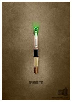 Sonic Screwdriver Poster (Dr. Who) Karmaorange