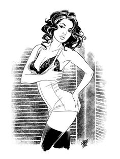 Pin-Up Collection by Cameron Stewart                                                                                                                                                                                 More
