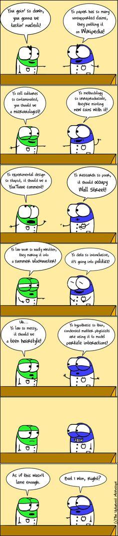 Science trash-talk