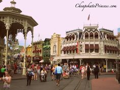 Where to find the Disney World Main Street Area Music Loop - listen for free!