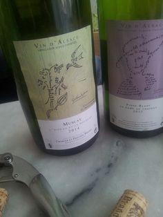"""Muscat """" l'oiseau et le bouquet"""" 2014 #vin #naturel Muscat, In Vino Veritas, Sommelier, Notes, Wine, Drinks, Bottle, Blog, Bouquet"""