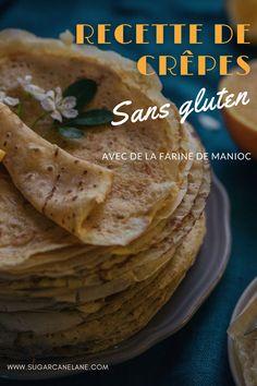 Des crêpes gourmandes sans gluten, ça existe ! Voici une recette à base de farine de manioc qui a des caractéristiques très proches de la farine de froment (le gluten en moins bien sûr !). Les plus sceptiques n'en croiront pas leurs papilles... Voici, Tacos, Breakfast, Ethnic Recipes, Food, Gluten Free Pancakes, Greedy People, Hoods, Meals