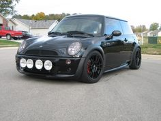 Blacked out Mini Cooper R50