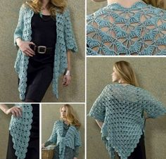 Lace Crochet Jacket Free Pattern