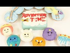 ADVENTURE TIME CUPCAKES- NERDY NUMMIES