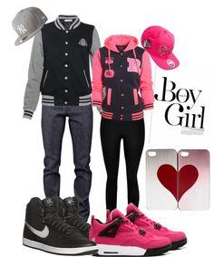 Cute boyfriend girlfriend outfit!