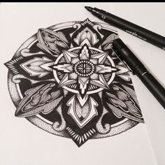 #zentangle #mandala #blackwork #linework #inkdrawing #zendala #zenart #mandalatattoo #blacktattoo #zen #stippling