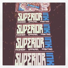 Got the #superiorinkprinting #sticker #arsenal ready to attack the #streets #stickerpacks #slaps #streetart #fashion #apparel #printing