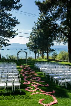Gorgeous Lake Tahoe, Nevada wedding at Glenbrook Club House, photo by Mauricio Arias of Chrisman Studios | junebugweddings.com