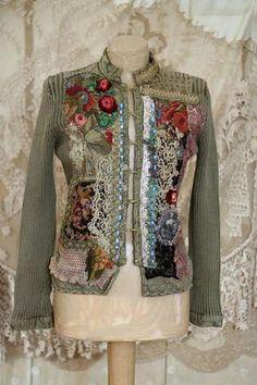 El viajero del tiempo II chaqueta de algodón por FleursBoheme