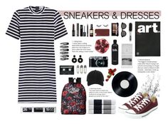 """""""Eliza"""" by miadalmeida ❤ liked on Polyvore featuring T By Alexander Wang, CASSETTE, Bio Ionic, Converse, Kartell, Solari, Tim Holtz, James Perse, Vans and NYX"""