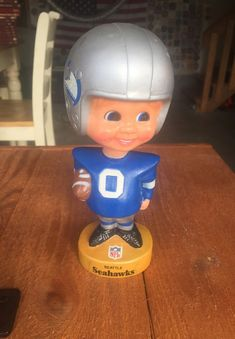 80c60e29673 Original Seattle Seahawks bobble head from 1975 for Sale in Des Moines