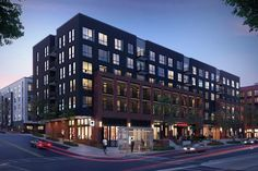 First look: Reynoldstown's boom continues with newest mixed-use project, Modera - Curbed Atlanta Condominium Architecture, Timber Architecture, Architecture Student, Residential Architecture, Rendering Architecture, Architecture Diagrams, Architecture Portfolio, Building Facade, Building Exterior