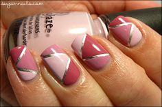 Sweet Sugar: Pink Tape Manicure