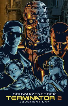 THE TERMINATOR 2 - JUDGEMENT DAY.