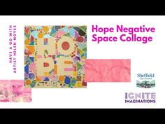 Hope Negative Space Collage with Helen - YouTube Negative Space, Recycled Materials, Create Your Own, Collage, Artist, Youtube, Design, Collages, Artists