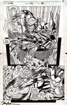 Uncanny X-men 275 pg 6, in ThomasFISH's Jim Lee & Scott Williams Comic Art Gallery Room - 966981
